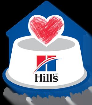Hills food shelter love logo