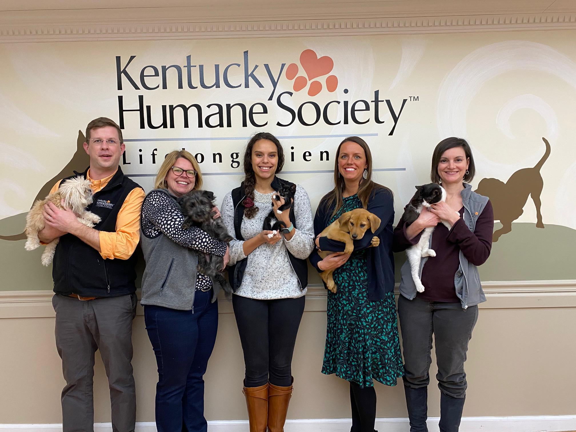 KHS photo with animals