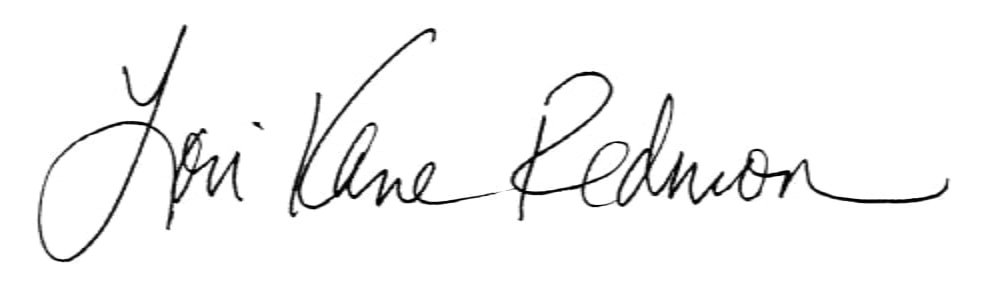 Lori Kane Redmon Signature