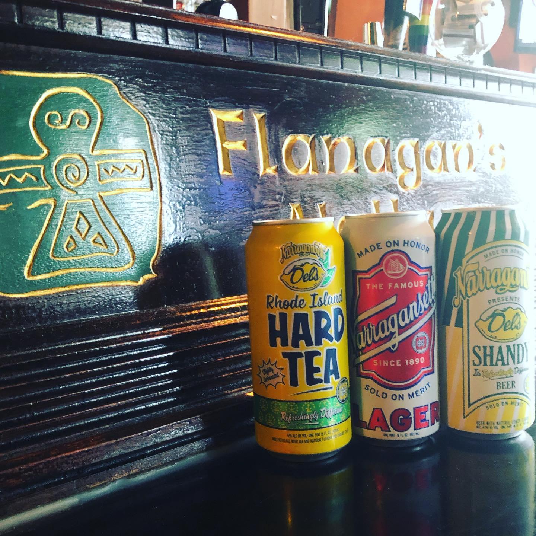 Patio Puptails at Flanagan's